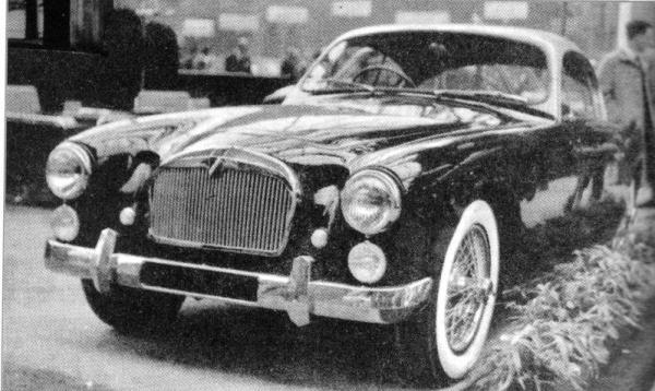 The handsome T26 GSL coupé, designed by Carlo Delaisse, sold only 15 units from 1953 to 1955.