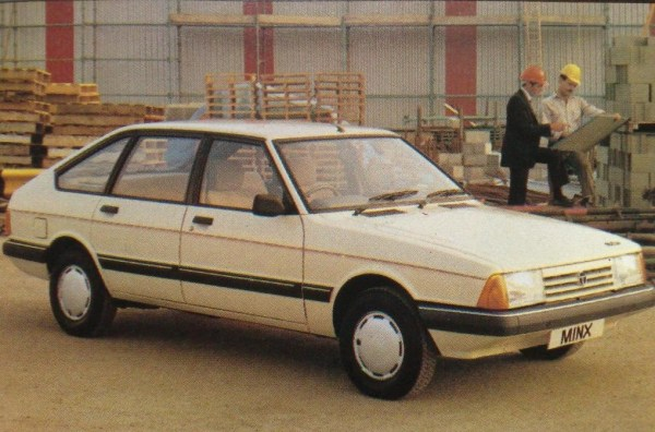 By 1985, the British Talbot range was in its final throes and started to use old Rootes model names to rekindle interest in its ageing cars, such as this Talbot Alpine Minx, to no avail.