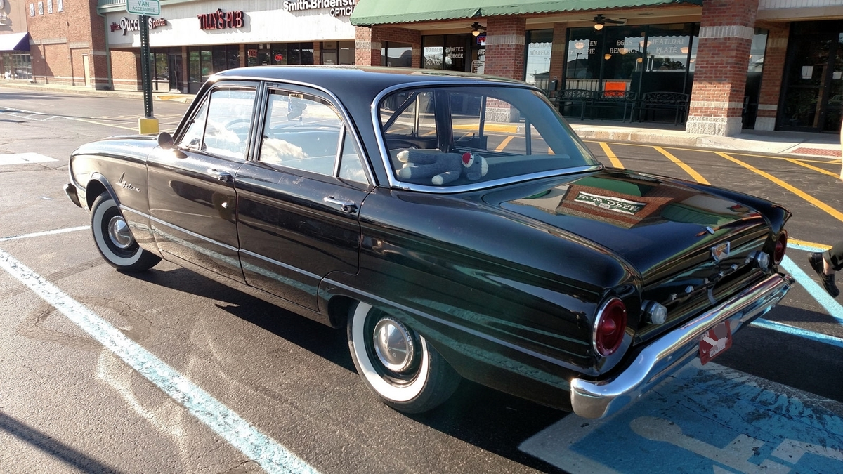 Curbside classic 1961 ford falcon simply original and just right