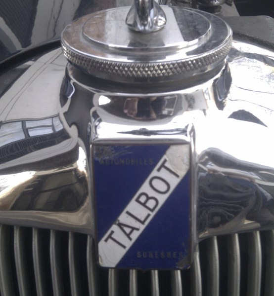 Talbot badge