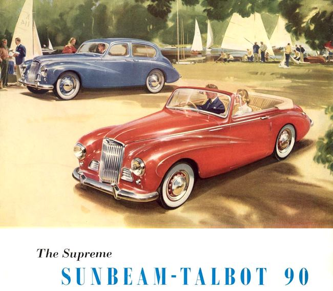 The Rootes group used the Talbot name for two decades, but the British and French Talbots were completely different.
