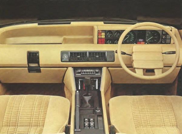 Brochure 1981 Rover UK interior