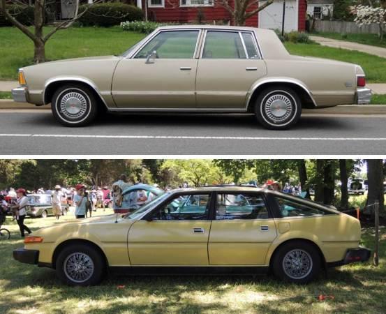 Comparison Malibu Rover