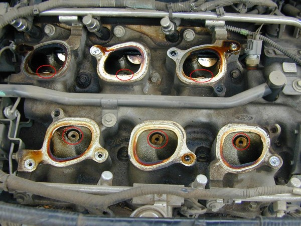 Ford Winstar manifold gaskets and egr ports
