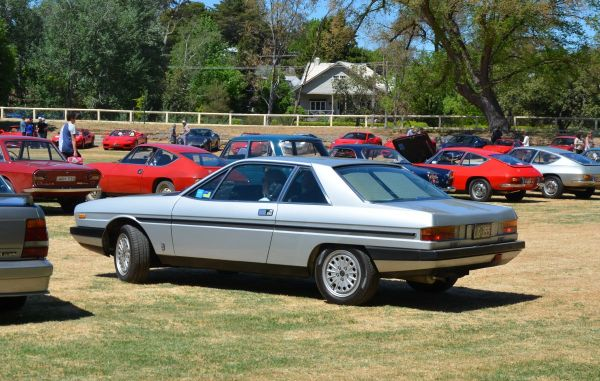 Gamma Coupe rear
