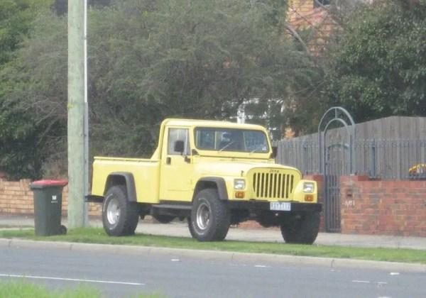 Jeep CJ pickup
