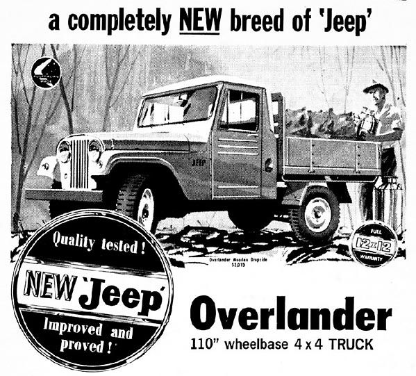 Jeep Overlander ute