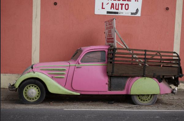 Peugeot 302 pickup side