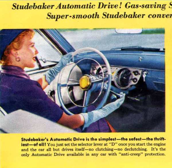 Studebaker Automatic Drive 1955 br