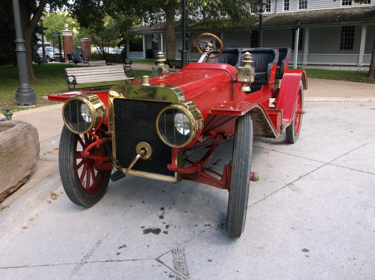 Car Show Capsule: 1907 Ford Model K Roadster – Watch The Malcomsons ...