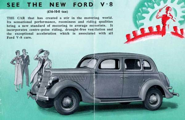 Automotive History: The Small Ford Flathead V8 (V8-60), Part One