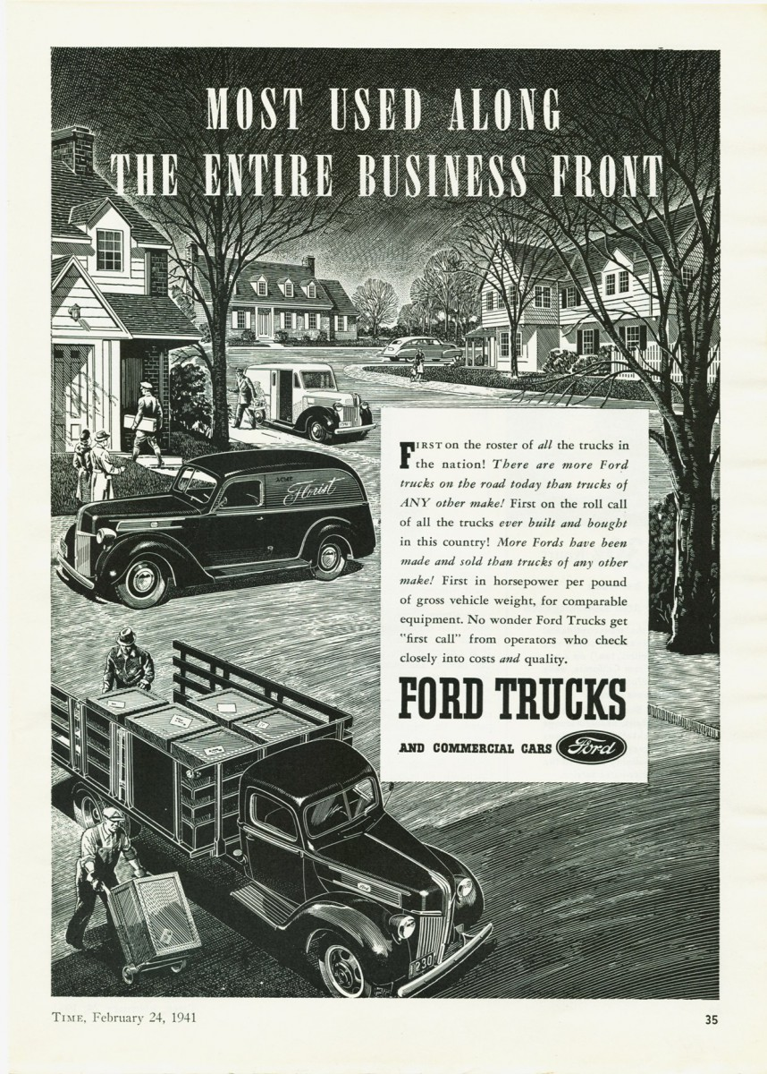 The Little Engines That Could Part 1 1941 1942 Ford 30 Hp Four Farm Truck Ad 02