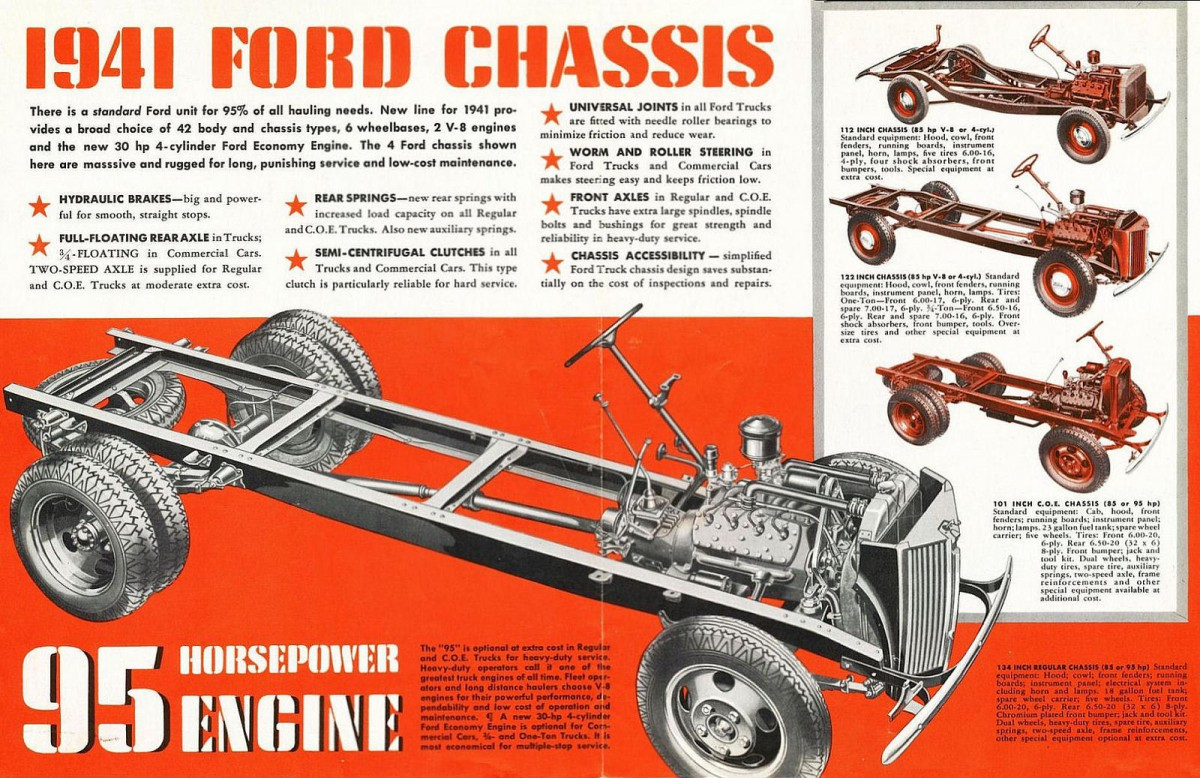 Ford Truck Foldout on 9n Ford Tractor Carburetor Diagram