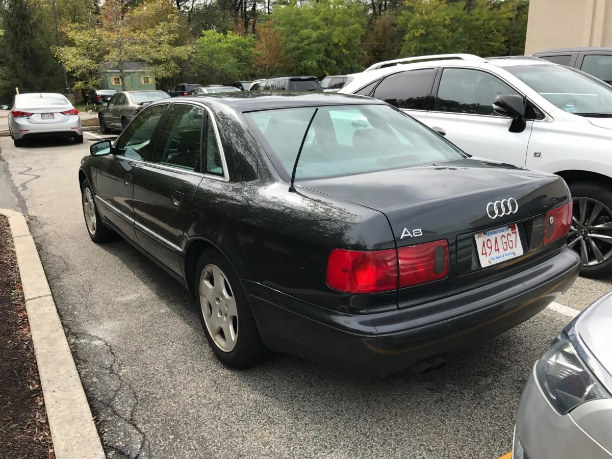 Curbside Classic 1999 Audi A8 4 2 Quattro Close But No Zigarre