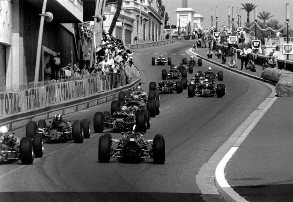 Monaco GP, 22 May 1966Lap one