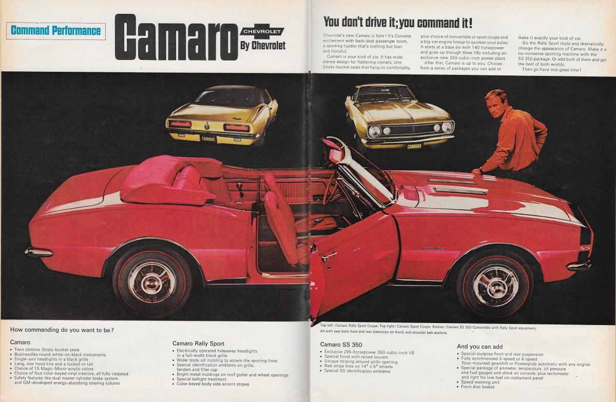 11 Vintage Camaro Ads We Love   GM Parts Online Blog