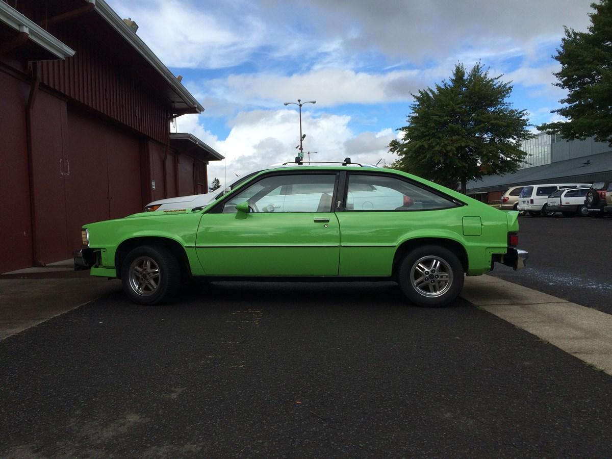 Chevy citation green