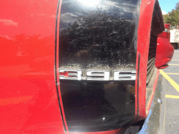 Camaro 1968 SS396 emblem
