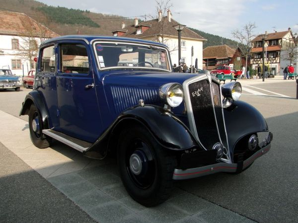 1935 Mathis EMY 4 Légère (9 CV; 1.5 litre) – Photo: Oldiesfan67
