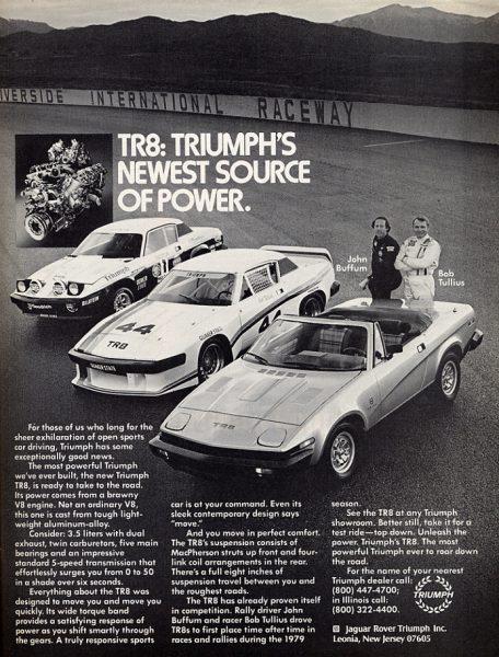 TR8 ad
