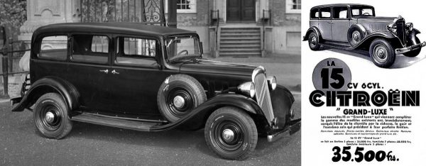 "1933-34 Citroën ""Rosalie"" 10 CV (4-cyl.) and 15 CV (6-cyl.)"