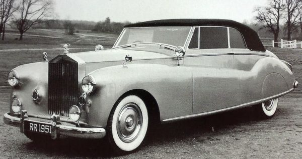 1951 Rolls-Royce Phantom IV convertible by H.J. Mulliner - ordered by the Shah of Iran.
