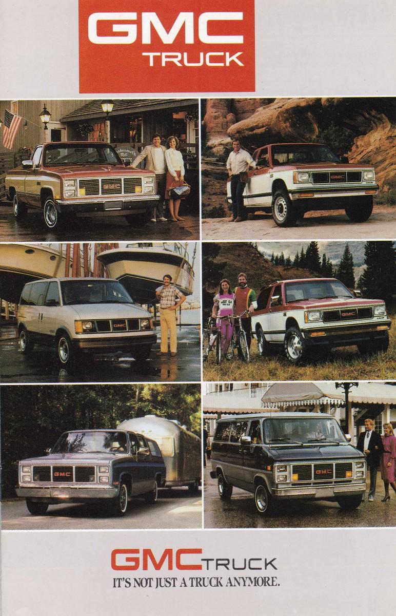 1981 GMC Truck Caballero Original Dealer Sales Brochure Catalog