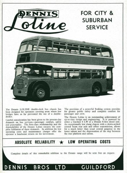 Dennis pulled out of the bus business in 1967.