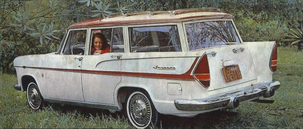 The Jangada Tufão shows off its new bigger tail lights.