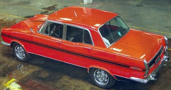 The 1969 Simca Esplanada GTX: a 2.5 litre Chrysler V8-60 hemi.