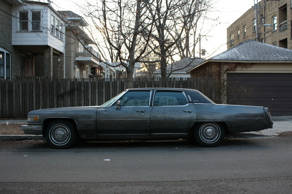 Curbside Classic: 1976 Cadillac Fleetwood Brougham – Tired, But