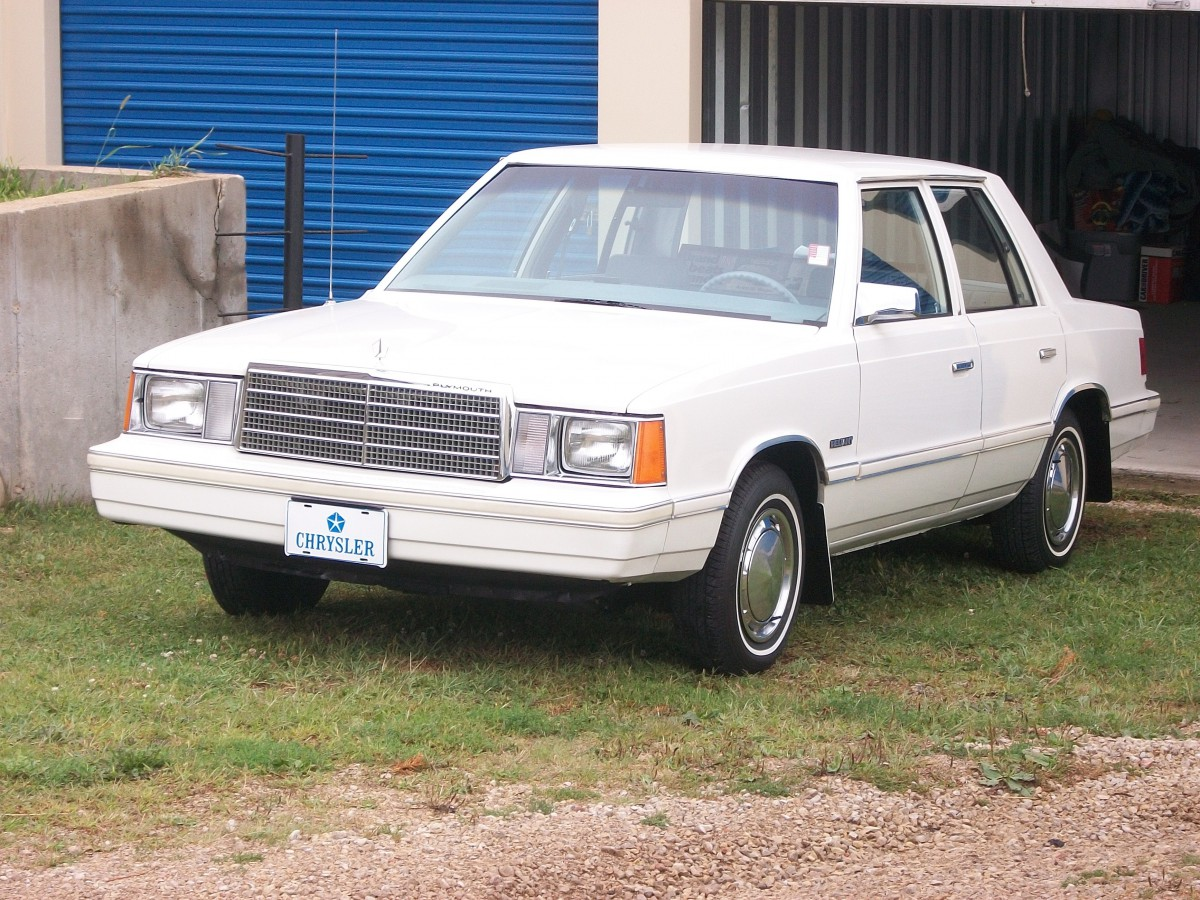 COAL: 1981 Plymouth Reliant Sedan – Old Reliable