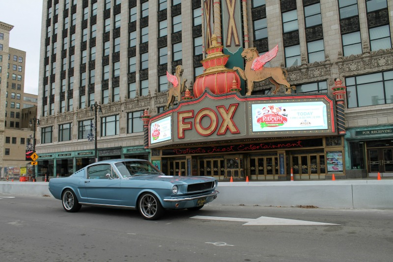 Cc travelogue 1965 ford mustang 2 2 fastback detroit s for Ford motor company detroit michigan phone number