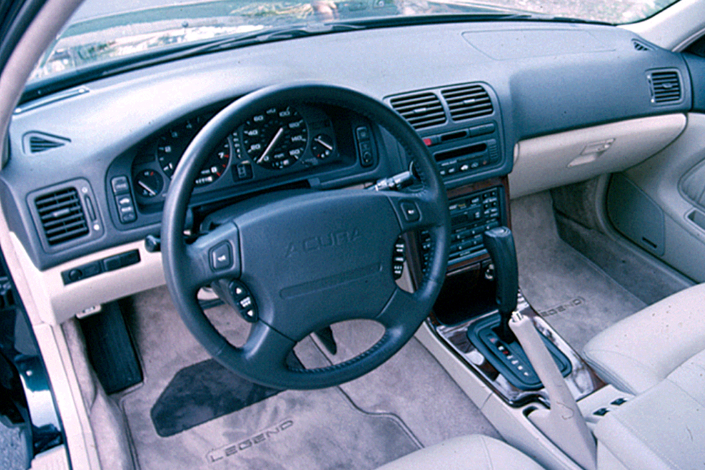 Curbside Classic 1995 Acura Legend L Coupe Legends