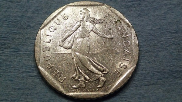 French coin? Front.