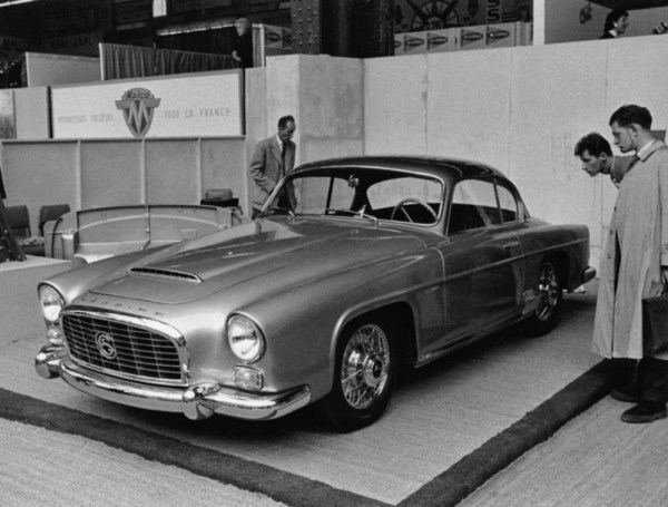 The only Grégoire Sport with a coupé body in 1957.