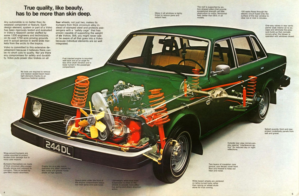 Mechanically, the 200 Series was a mix of old and new. The vehicle's basic  architecture was largely carryover from the 140, though wheelbase was 1.8  inches ...