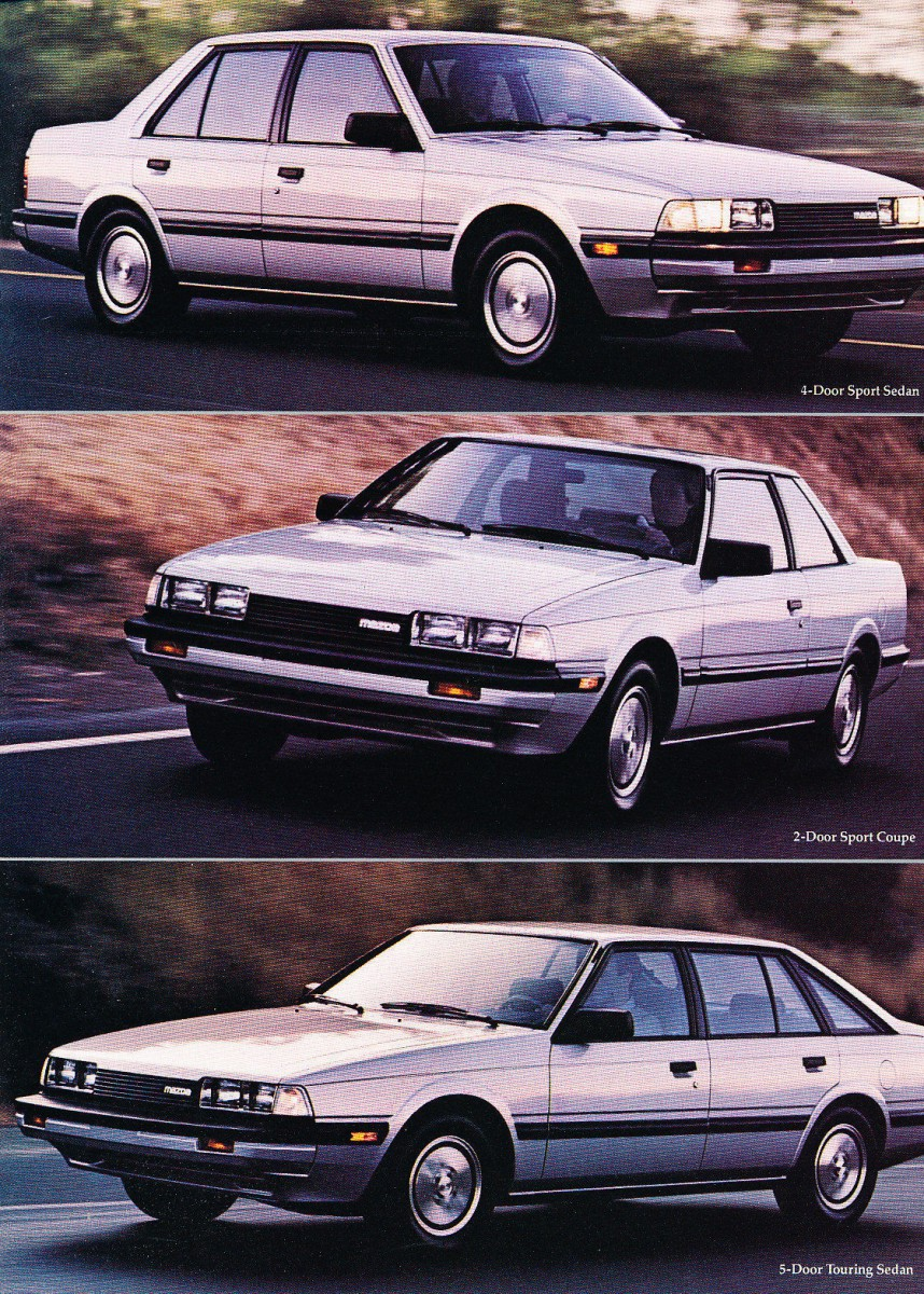 Conversely  In North America  The 1983 626 Lived In The