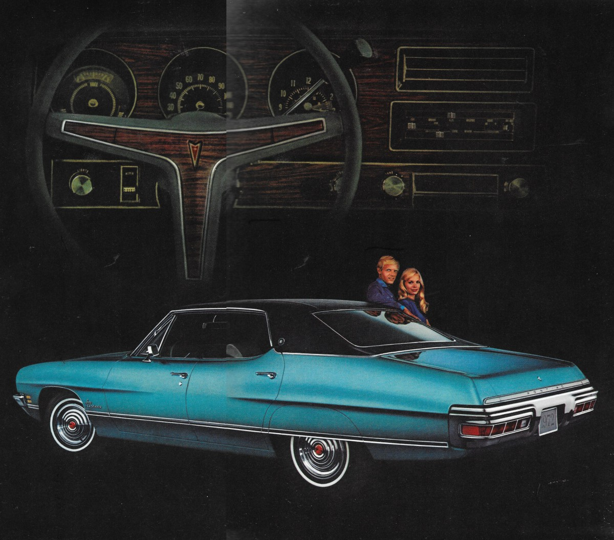 Vintage Review Commentary 1972 Pontiac Luxury Lemans Motowns Wiring Nonetheless Formerly Sporty Plowed Ahead Down The Grand Brougham Path And Result Were Cars Like