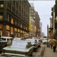 Let's move on from New York and look at some vintage street scene snapshots from Toronto, Canada. These were posted at vintage.es and are credited to Ellis Wiley, via the […]