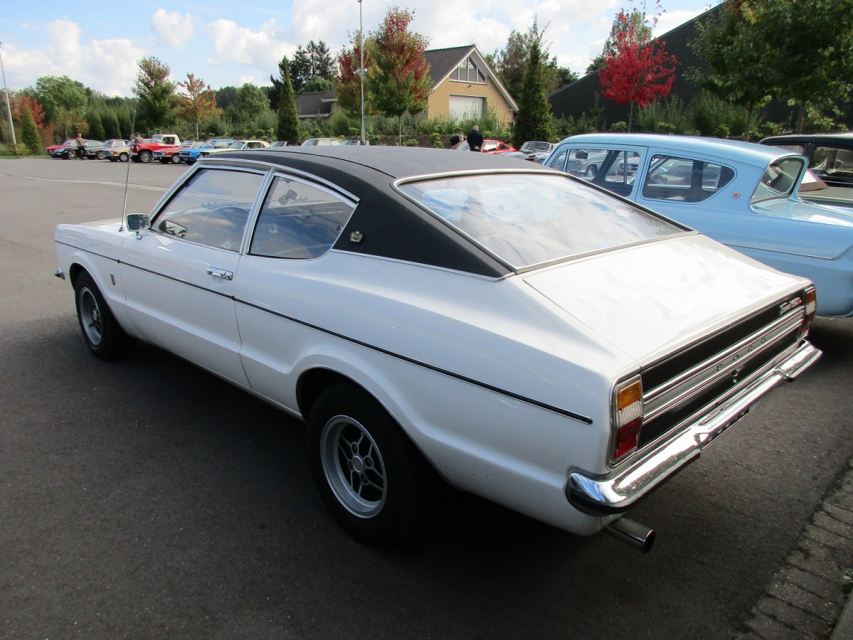 Car Show Outtakes: 1972 And 1974 Ford Taunus GXL Coupe ...