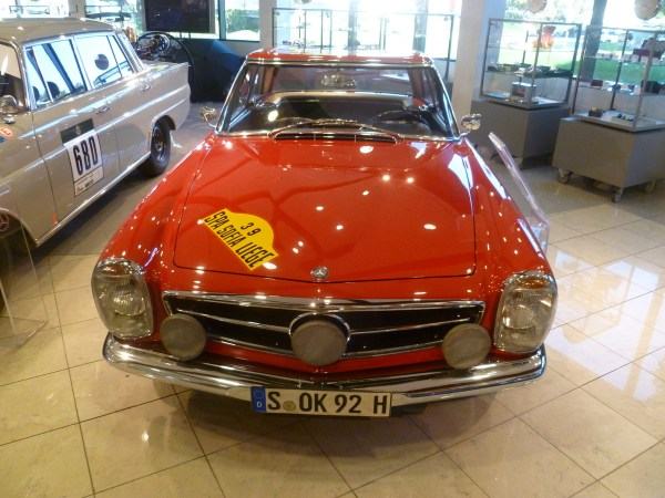 Mercedes-Benz Classic Center 230SL Rally