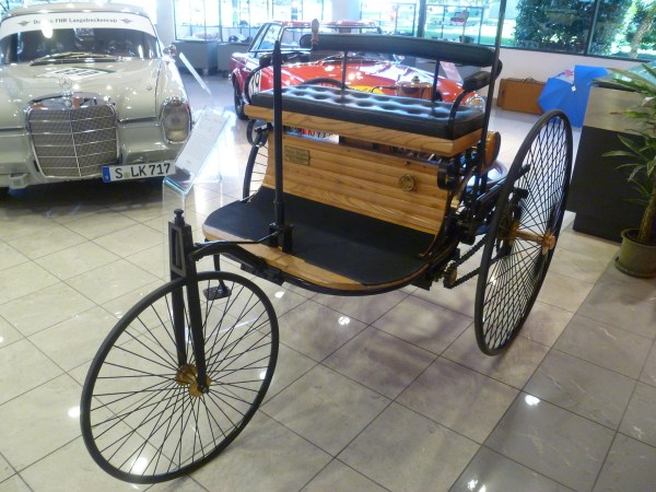 Mercedes-Benz Classic Center Patent-Motorwagen