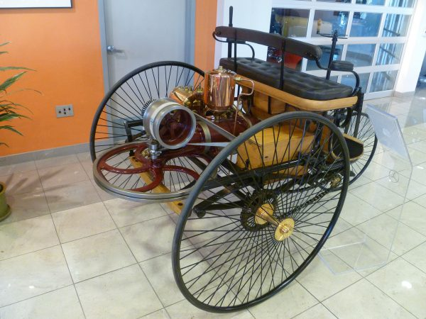 Mercedes-Benz Classic Center Patent-Motorwagen