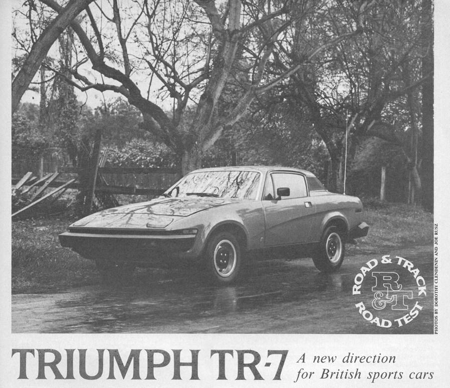 Vintage R&T Review: Triumph's TR7 – Britain's Last Great