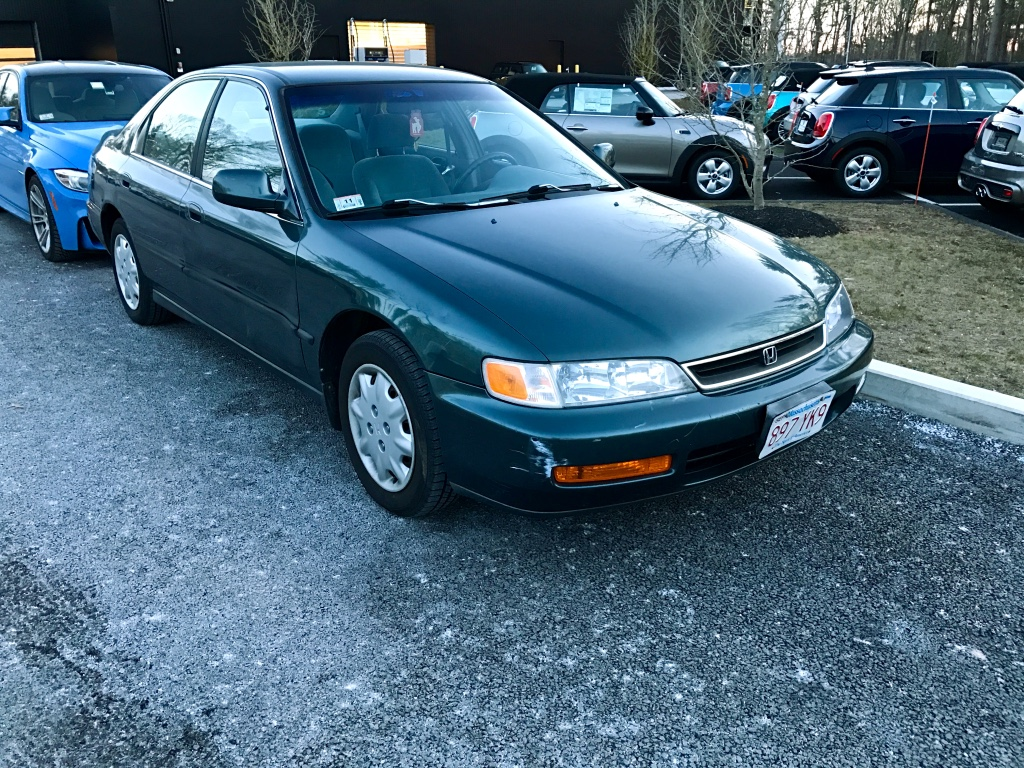 Curbside Classic 1996 Honda Accord LX In Accordance With American Demands
