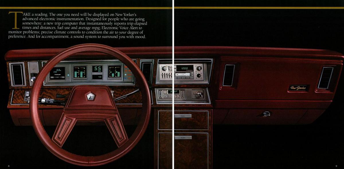 (CC Cohort Photos: Colin)  |1983 Chrysler New Yorker Interior