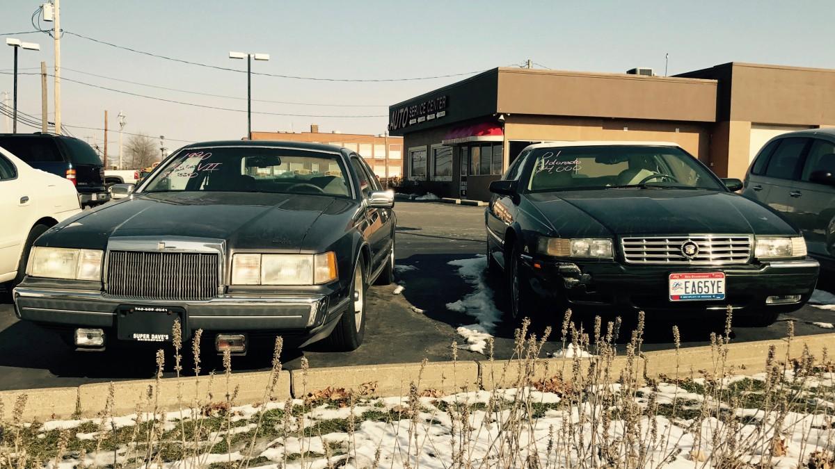 CC Comparison: 1990 Lincoln Mark VII LSC vs. 2001 Cadillac Eldorado ESC –  The Twin Paradox