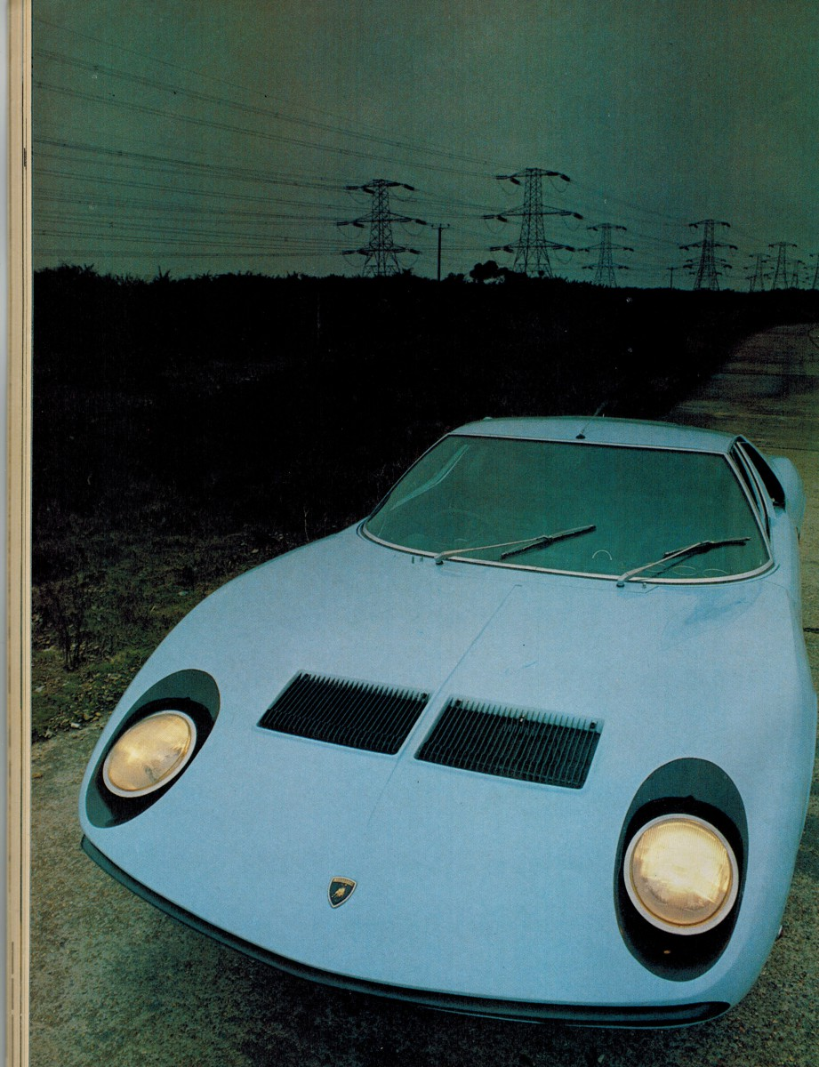 Vintage Car Review Lamborghini Miura The First And Only Modern Transverse 12 Cylinder Supercar Curbside Classic