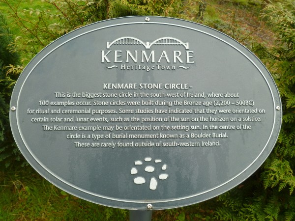 Kenmare Stone Circle, Ireland